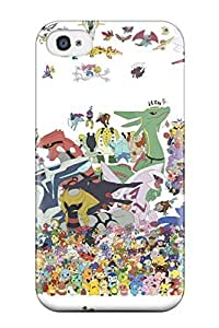 Hard Plastic Iphone 4/4s Case Back Cover,hot Pokemon Case At Perfect Diy