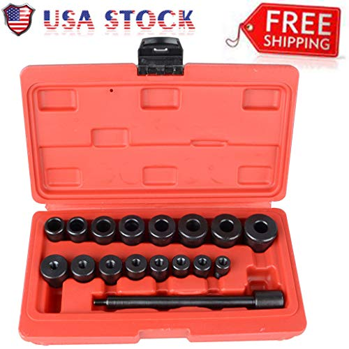 (Arrowsy Clutch Alignment Tool Kit Aligning Universal 17pc For All Cars)