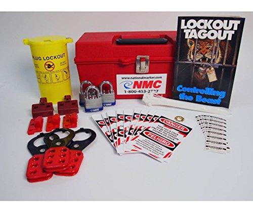 ELOK1BI Assembly / Kit National Marker Portable Lockout Kit - Bilingual