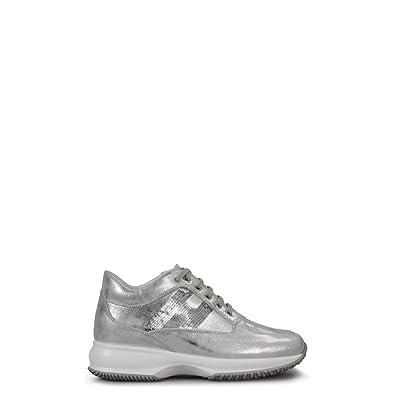 Hogan - Zapatillas para Mujer Plateado Size: 37: Amazon.es: Zapatos y complementos