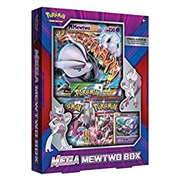 Pokemon Mega Mewtwo X Box