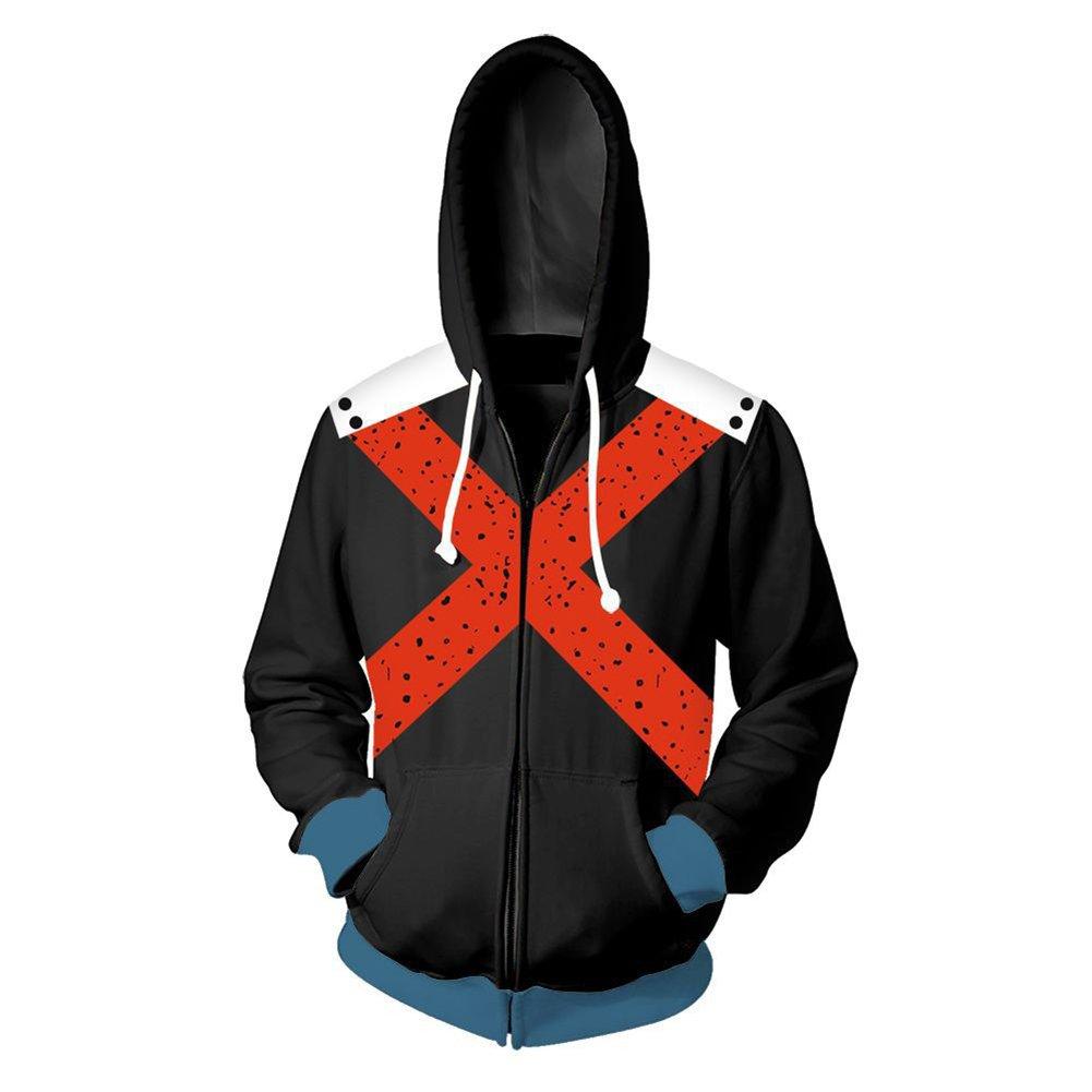 COSFLY Boku No Hero Academia My Hero Academia Izuku Midoriya Jacket Sweatshirt Cosplay Costume Hoodies