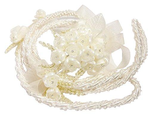 Wedding Mexican Lasso - Ivory Wedding Lasso Rope - Traditional Lazo Cord