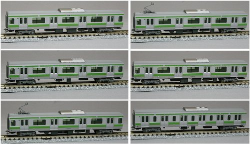 KATO E231 System 500 Serie Yamanote Linie Haematopoese 6 Tanks gesetzt 10-262 [Modellbahn · Spur N]
