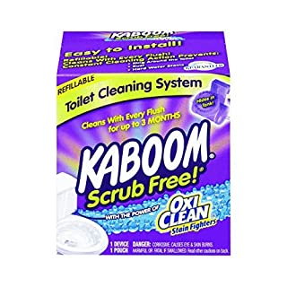"Church And Dwight 35113"" kaboom Scrub Free Toilet Cleaning System (Pack of 2)"