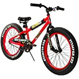 Dynacraft 8107-57TJD Boys 20-Inch Sixteen20 Krusher Bike, Red/Black