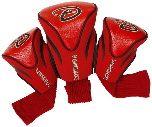 - Team Golf MLB Arizona Diamondbacks Contour Golf Club Headcovers (3 Count), Numbered 1, 3, & X, Fits Oversized Drivers, Utility, Rescue & Fairway Clubs, Velour lined for Extra Club Protection