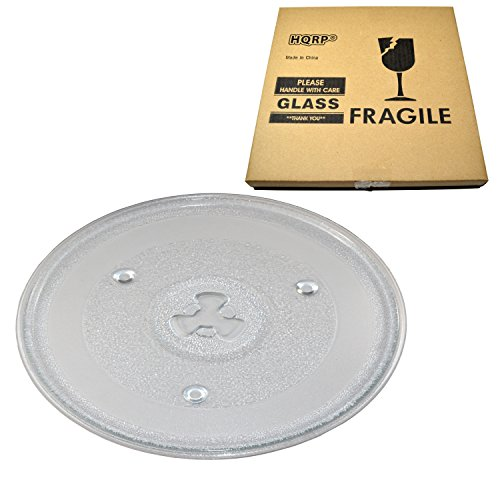 HQRP 10-1/2 inch Glass Turntable Tray for Hamilton Beach 252
