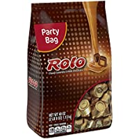 ROLO Gluten Free Chewy Caramels in Milk Chocolate, 40 Ounce Bag