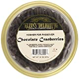 Klein's Natural Foods Cranberries, Chocolate, 8-Ounce