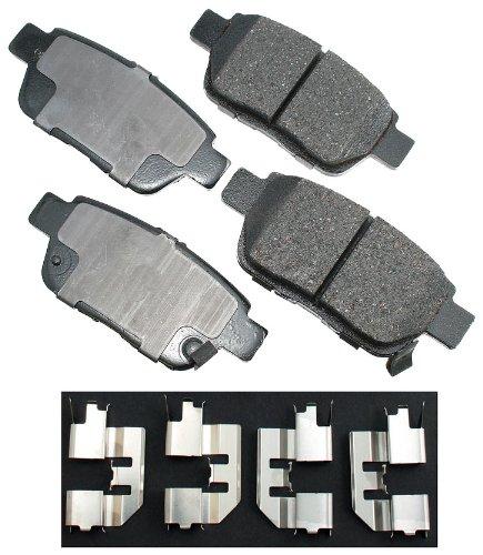 Akebono ACT1103 ProACT Ultra-Premium Ceramic Brake Pad Set