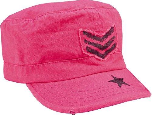 (Rothco Women's R/S Adj Vint Fat Cap, Pink/Black SGT)