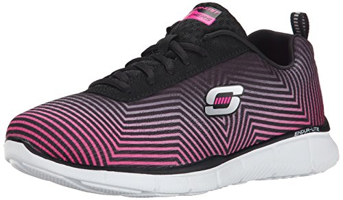 Skechers Equalizer Expect Miracles Damen Sneakers Black (Schwarz / Multi)