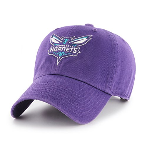NBA Charlotte Hornets OTS Challenger Adjustable Hat, Purple, One ()