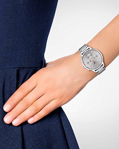Tommy Hilfiger Unisex Multi Zifferblatt Quarz Uhr mit Edelstahl Armband 1781871 2