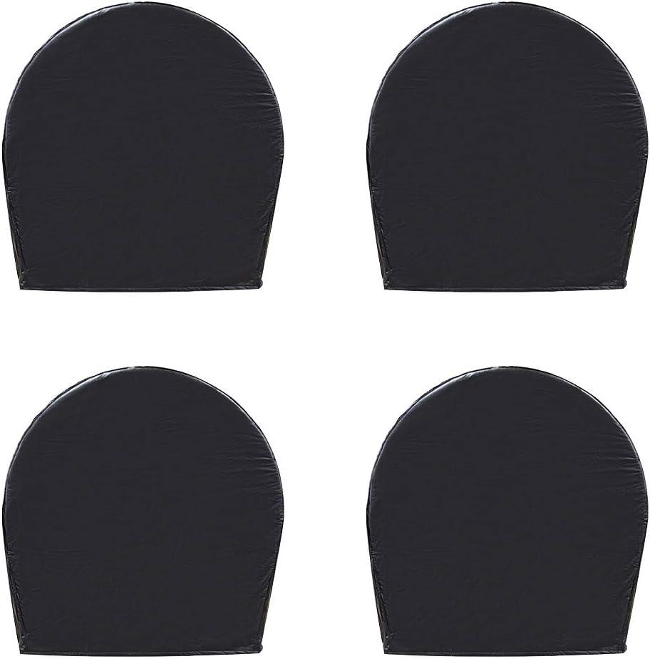 for 30 Inches Black PrimeShield Set of 4 RV Wheel Cover 32 Inches Wheel Diameter