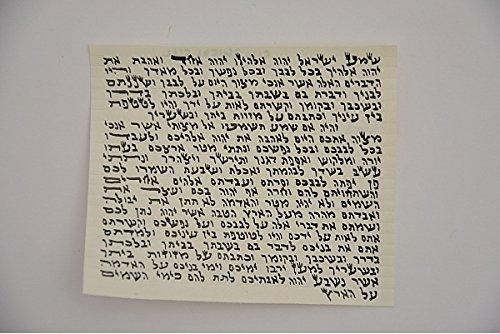 Kosher Mezuzah Scroll - 4