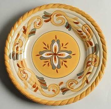 Artimino Sienna Salad Plate Fine China Dinnerware & Amazon.com | Artimino Sienna Salad Plate Fine China Dinnerware ...