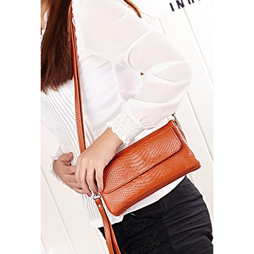 Bags Body Bag Wristlet Clutch Cross Fashion Shoulder Casual Women's Wallet Multi Handbag Pocket Soft Yellow Retro R0wfqxT