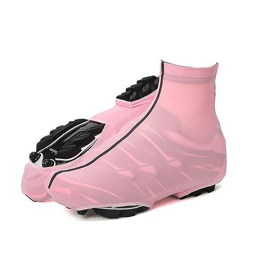 Cubierta de zapatos de ciclismo Color sólido Ciclismo Cubre ...