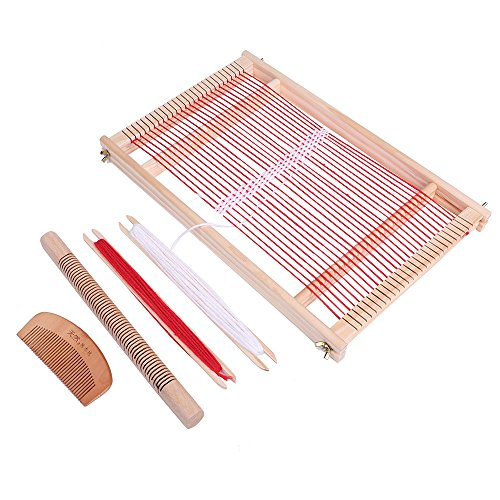PlumRiver 手織り機 織り機 おりき 卓上手織り機 裂き織り さきおり ハンドメイド 手作り 【動画マニュアル付属】