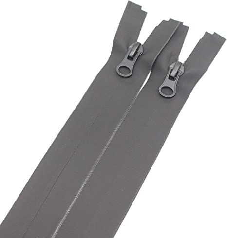 Coats Thread /& Zippers Water-Resistant Separating Zipper Black 26-Inch