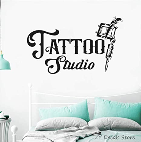 Olivialulu Tattoo Studio Logo Tatuajes de pared Logotipo de ...