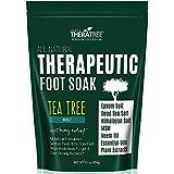 Oleavine Tea Tree Oil Foot Soak with MSM, Neem and Epsom Salt 16oz