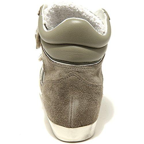 Piaf Donna 61831 Philippe Women Verde Scarpe Sneakers Militare Shoes Model aRXRqwxtO