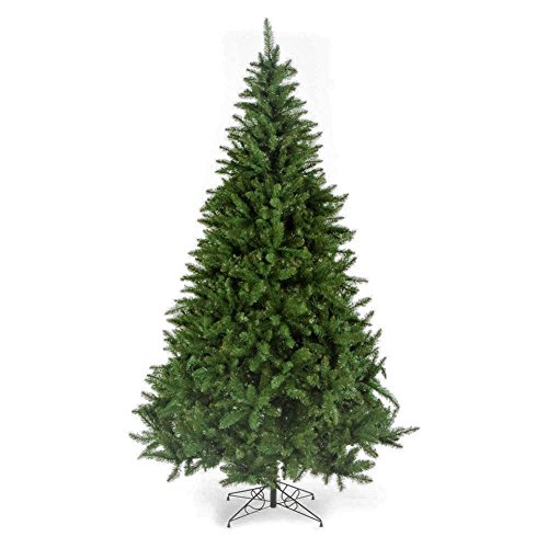 Artificial Christmas Tree. Fake Xmas Spruce With Natural Fir Shape, Classic Green, Dense, Lush Foliage Looks Traditionally, Neat & Realistic. Great For Indoor Holiday Season Party Decor. (10 Foot) by Artificial-Christmas-Tree