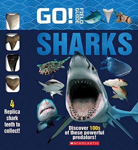 Go! Field Guide: Sharks (Replica Shark Teeth)