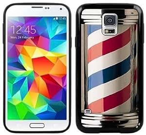 2015 CustomizedBarber Shop Pole Handmade Samsung Galaxy S5 Black Case