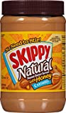 Skippy Peanut Butter, Creamy and Natural with Honey, 40 Ounce Jar
