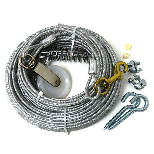 Four Paws Heavy Weight Dog Run Cable, 100 ft