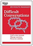 img - for Difficult Conversations (HBR 20-Minute Manager Series) book / textbook / text book