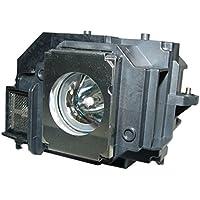Lutema ELPLP66-L02 Epson ELPLP66 V13H010L66 Replacement DLP/LCD Cinema Projector Lamp, Premium