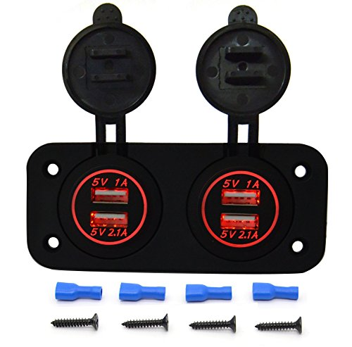 Cllena 4 port Charger Adapter Motorcycle product image