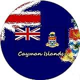 refrigerator badge - 58mm Round Badge Style Fridge Magnet Cayman Islands Flag