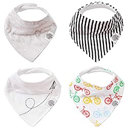 As parents of twin babies, we structure our life around simplification. We have designed products to simplify your baby's life, and more importantly, to simplify your life as a parent.   The Good Baby bandanas are a stylish solution to your teething ...
