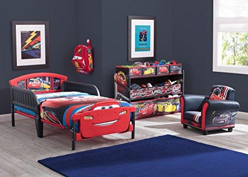 Delta Children 3D-Footboard Toddler Bed, Disney/Pixar Cars 3 6