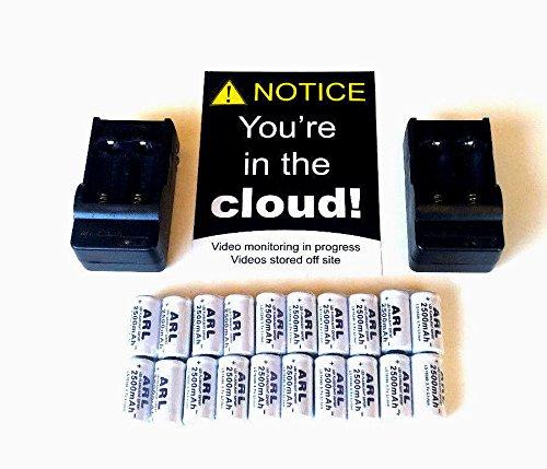 Rechargeable batteries kit for Netgear Arlo