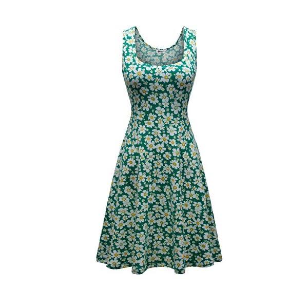 841ae2da3f13 On Sale. Herou-Women-Sleeveless-Beach-Casual-Flared-Floral-Tank-