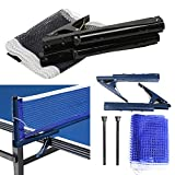 LZNDEAL Training Competition Replacement Table Tennis Ping Pong Net with Post Setting
