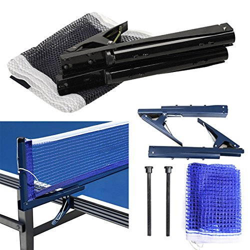 LZNDEAL Training Competition Replacement Table Tennis Ping Pong Net with Post Setting by LZNDEAL