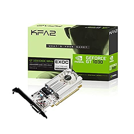 KFA2 30NPH4HVQ5EK GeForce GT 1030 2GB GDDR5 - Tarjeta gráfica ...