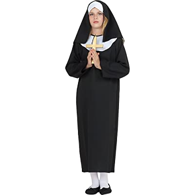 RG Costumes LIL Sister Nun Kids Costume: Toys & Games