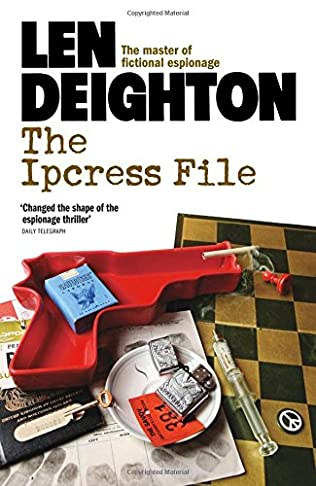 book cover of The Ipcress File