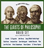 The Giants of Philosophy Series (Boxed Set) (The Audio Classics: Giants of Philosophy)