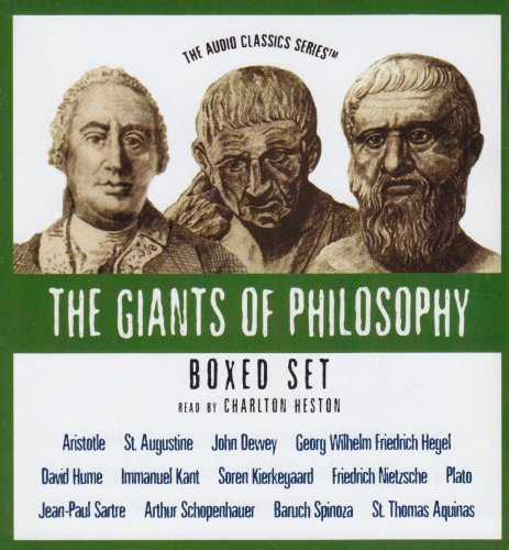 The Giants of Philosophy Series (Boxed Set) (The Audio Classics: Giants of Philosophy) by Blackstone Audio Inc.