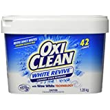 OxiClean White Revive Laundry Stain Remover Powder, 1.28 Kilogram